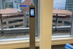Body Temperature Detection Pedestal